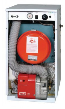 Grant Vortex Blue 36kw internal oil fired boiler